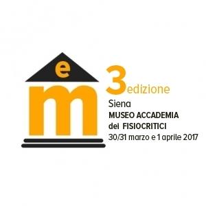 TERZA EDIZIONE MUSEI EMOTIVI | Siena 30/31 MARZO e 1 APRILE 2017