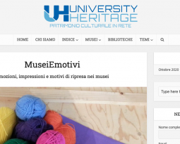 MuseiEmotivi su University Heritage