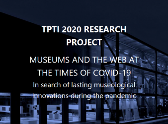 Museums and the web at the times of COVID-19