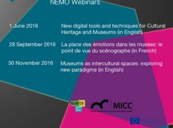 Webinars NEMO /NEMECH-MICC